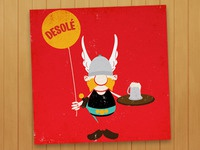 Asterix is Desolé