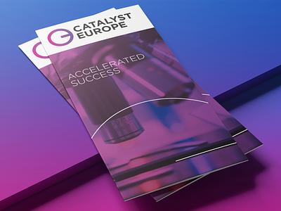 Catalyst Europe identity branding identity design vector branding logo design