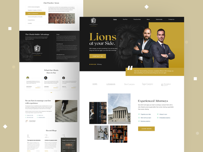 Law firm website 2021 lion 2020 trends websites website concept lawyers law law firm lawyer redesign web design branding header design website webdesign wordpress minimal website design landing page uxdesign uidesign