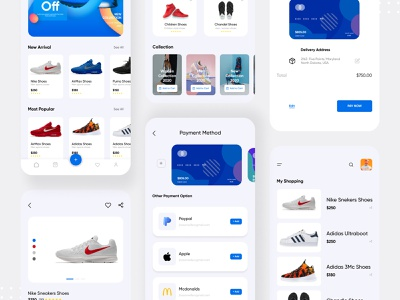 Shoes App webdesign website behance ios app design trendy design illustration branding abstract shoes app design minimal mobile app design mobile app app shoes ux ui shoes app shoes app design app 2020 trend