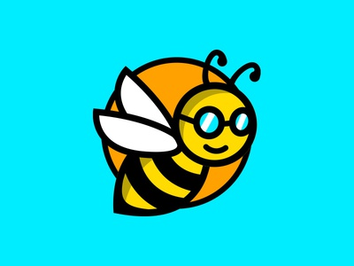 Bee Logo for a Solar Brand
