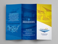 Shade Sail / Canopy Trifold Brochure