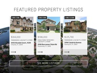 Real Estate Listings UI