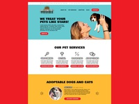 Pet Store Website Concept