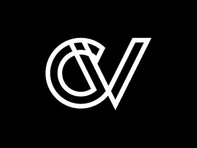 CV Logo portfolio designer personal branding logomark logo cv