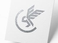 Creative owl logo mockup 3