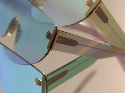 Eyewear concept render redshift cinema4d cgi c4d 3ddesign 3d