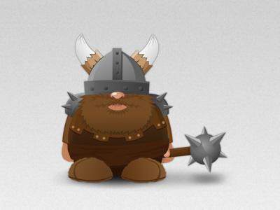 Viking viking spike ball horns helmet