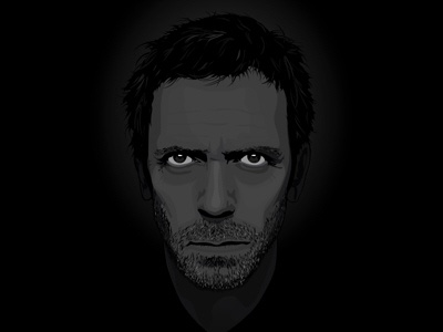 Dr Gregory House vector house