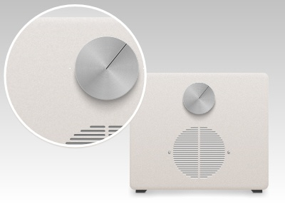 Dieter Rams Style Audio PLayer dieter rams braun radio audio crisp
