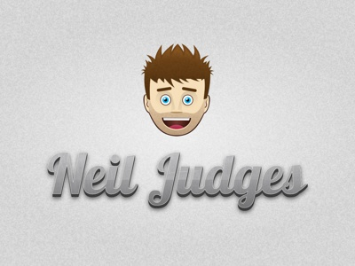 Judges Logo avatar cartoon dude head portfolio