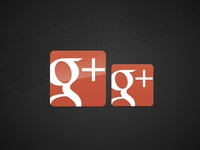 New Google Plus Icons
