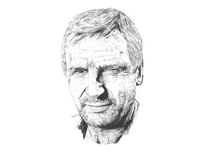 Hannibal - Liam Neeson a-team hannibal liam neeson illustration