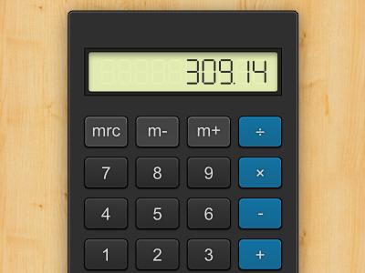 Vector Calculator calculator vector buttons