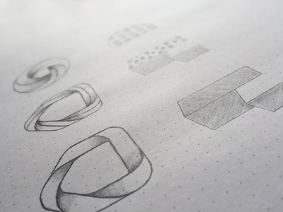 Sketch Logo house building home 3d icon logotype draw sketch logo