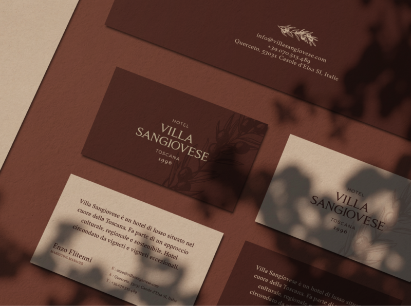 Brand Identity Concept for a Luxury Hotel in Italy hotel branding design hotel bar restaurant brand design logotype branding brand identity logo