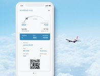 Daily UI 24: Boarding Pass
