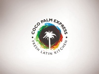 Coco Palm Express Branding