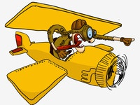 Plane Illustration (still working)