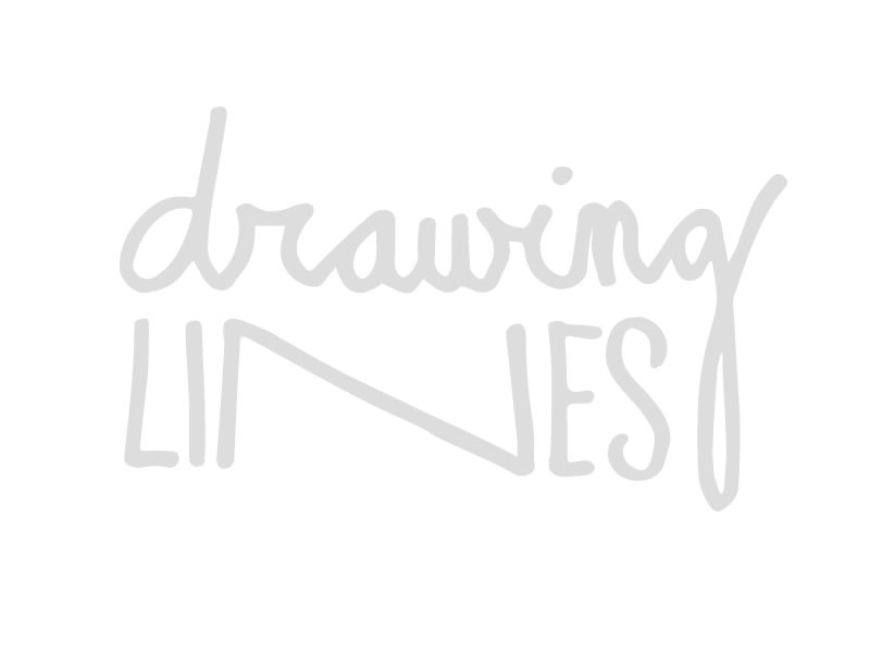 Drawing Lines hand-drawn lettering hand-drawn type recess