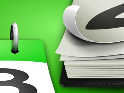 QuickCal Desktop Icon (Detail) calendar desktop green icon paper detail