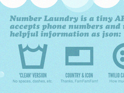 Number Laundry - icons api game bubble pop twilio phone washing sysmbols