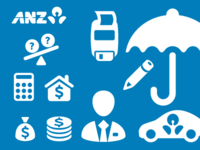 ANZ Bank Iconset