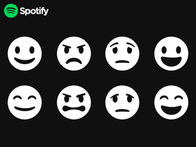 Spotify Emoticons tests spotify icons emoticons