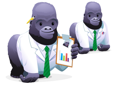 Silverback II App Icon illustration characters icons
