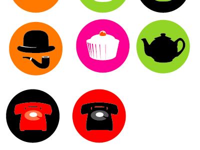 New Hicksdesign Icons