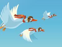 Duck Squadron for DuckDuckGo