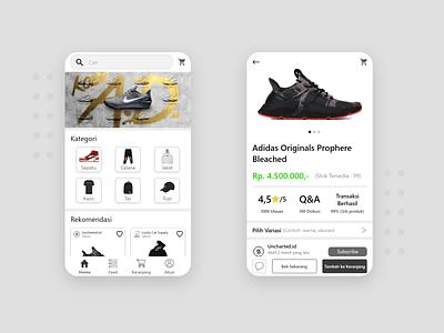 Hypebeats App android design ecommerce app uidesign design ui