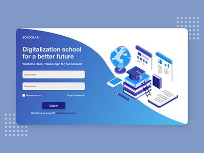 Login UI login ui website design design ui uidesign