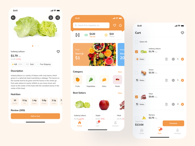Grocery App uxdesign grocery grocery app mobile app ux uidesign app uiux ui design