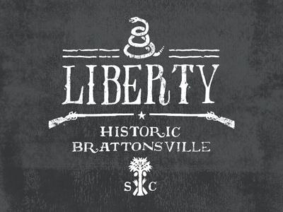 Liberty south carolina vintage revolutionary war illustration t-shirt snake musket