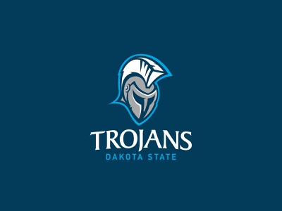 Dakota State University | Logo Design south dakota brand design print design vector illustration typography logo branding design university school mascot logo design branding