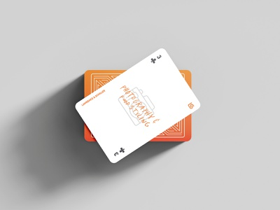 Lawrence & Schiller | New Business Playing Cards icon set business orange vector direct mail print illustration cardistry card