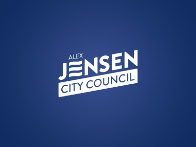 Alex Jensen Election Campaign vector south dakota photography typography print design billboard brand design branding logo design politics logo
