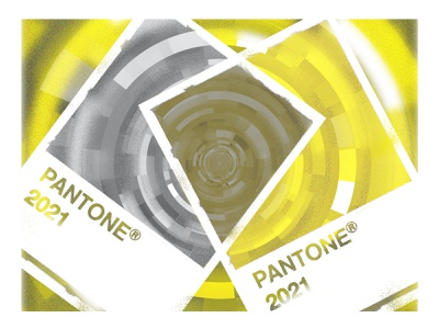 Pantone Colors of the Year | Ultimate Gray + Illuminating vector illustrator photoshop photography typography illustration yellow gray color pantone