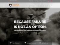 Defense Manufacturing Website