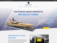 Website Design for Prototyping and Manufacturing Company