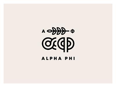 Alpha phi community from Helsinki dance club music party branding identity festival logo