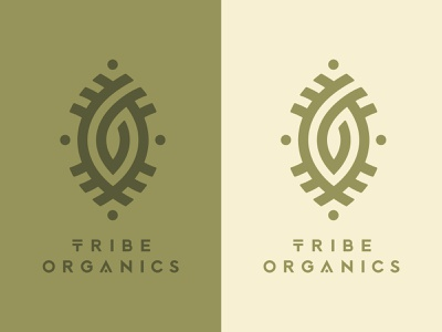 Tribe organics yoga spiritual supplements soul minde body medicine love tribe organic food wellness india ayurveda natural logo branding hippie identity