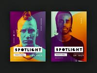Spotlight festival poster