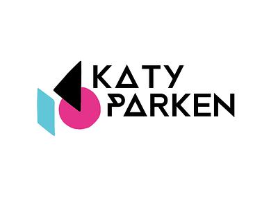 Katy Parken Logo design typography branding vector logo