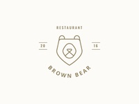 Brown Bear Logo Design