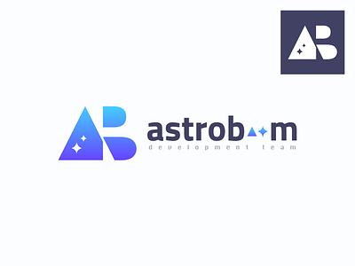 logo   astroboom logotype space star logo
