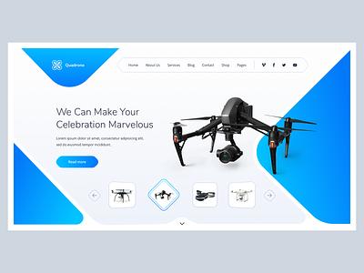 drone design site drone webdesign website
