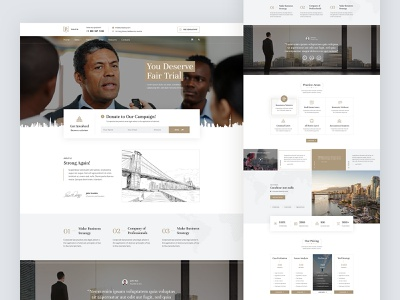 politix - website design political politics ui web design web