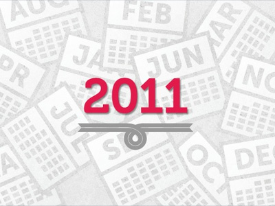 The Year According To Sparksheet 2011 year calendar month